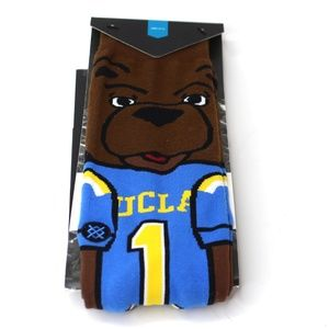 Stance NCAA UCLA Bruins Socks Joe Bruin Mascot NWT